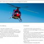 Giro in elicottero sulla Reggia di Caserta